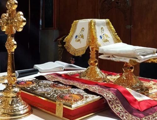 Slujba Arhiereasca la Parohia Sfintii Arhangheli-Huedin